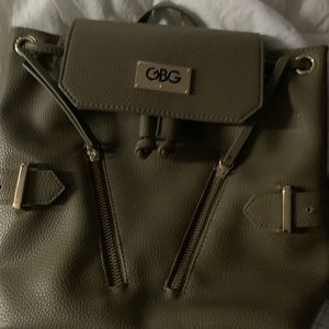 GBG Los Angeles Olive Green Backpack.